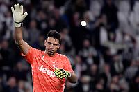 Gianluigi Buffon of Juventus <br /> Torino 19/10/2019 Allianz Stadium <br /> Football Serie A 2019/2020 <br /> Juventus FC - Bologna <br /> Photo Federico Tardito / Insidefoto