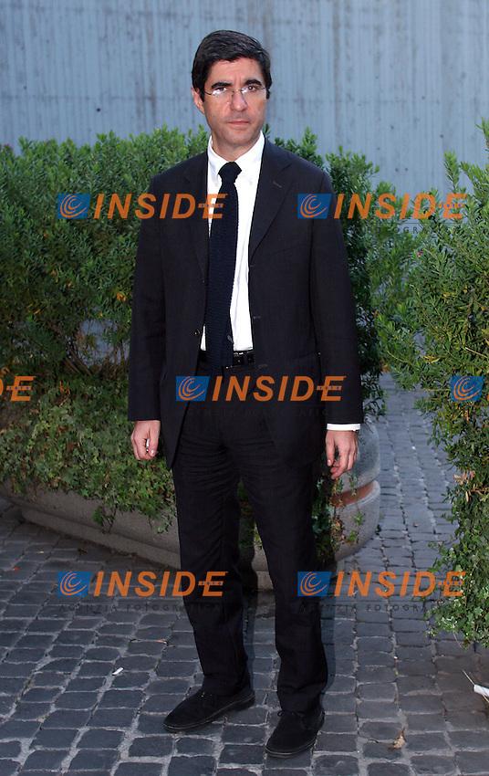 Roma, 06/12/06 Presentazione del libro di Mauro Paissan dal titolo &quot;Privacy e giornalismo&quot;. Nella foto il direttore del Tg1 Gianni Riotta.<br /> Photo Samantha Zucchi Inside