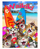 Howard, REALISTIC ANIMALS, REALISTISCHE TIERE, ANIMALES REALISTICOS, selfies,waikiki,cats, paintings+++++,GBHR912,#a#, EVERYDAY