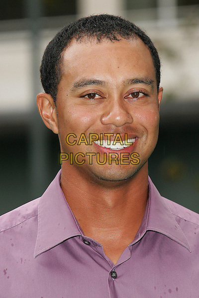 TIGER WOODS.Photocall in London, UK..September 25th, 2006.Ref: CAP/DAR.headshot portrait.www.capitalpictures.com.sales@capitalpictures.com.©Darwin/Capital Pictures