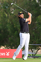 Gavin Green (MAS) on the 4th tee during Round 1 of the Omega Dubai Desert Classic, Emirates Golf Club, Dubai,  United Arab Emirates. 24/01/2019<br /> Picture: Golffile | Thos Caffrey<br /> <br /> <br /> All photo usage must carry mandatory copyright credit (&copy; Golffile | Thos Caffrey)
