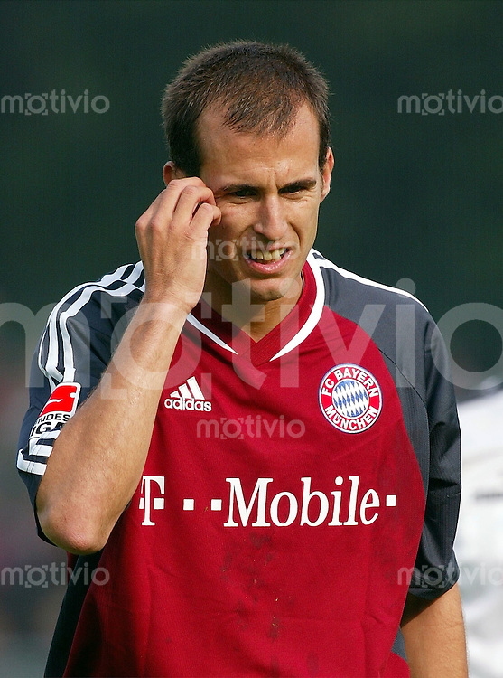 FUSSBALL Bundesliga 2002/2003 Mehmet SCHOLL FC Bayern Muenchen