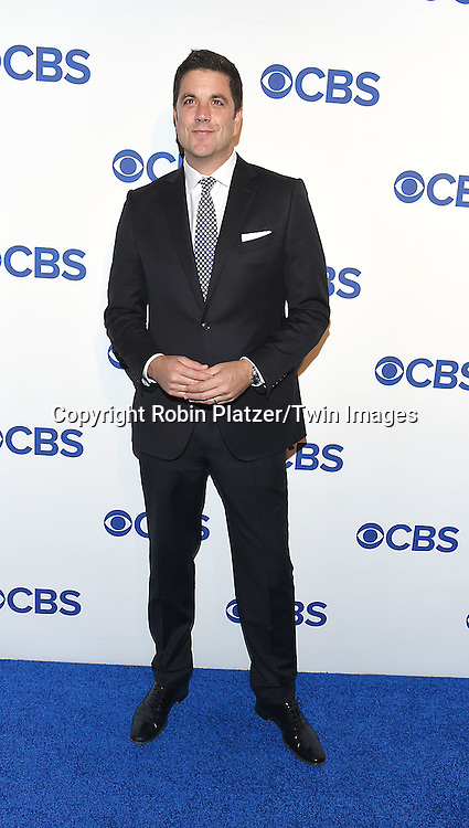 Josh Elliott attends the CBS Upfront 2016-2017 on May 18, 2016 at the Oak Room at the Plaza Hotel in New Yorik, New York, USA.<br /> <br /> photo by Robin Platzer/Twin Images<br />  <br /> phone number 212-935-0770