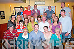 Kieran&Edel Greensmyth,Killeen Wood,Tralee(seated centre)who were married in Italy on May 19th last had a family celebration with family and friends in Stoker's Lodge bar/restaurant,Clounalour,Tralee last Saturday night.