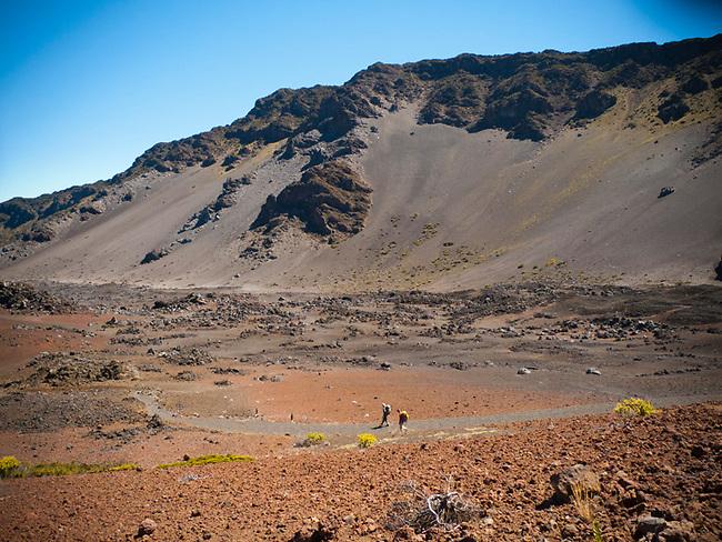 Halakala crater Maui Hawaii
