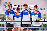 Laxton events team during Swire Touch Tournament on 03 September 2016 in King's Park Sports Ground, Hong Kong, China. Photo by Marcio Machado / Power Sport Images