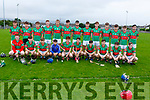The Crotta O'Neills minor team that were defeated by Tralee Parnells in the Minor Hurling Championship on Monday night,