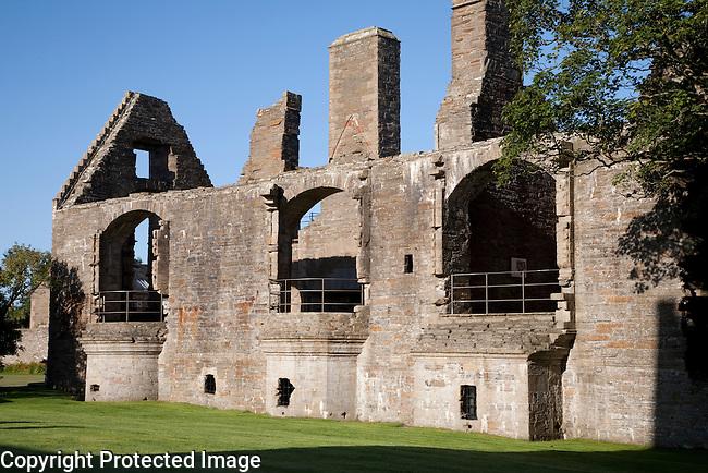 Earls Palace, Kirkwall in Ornkey Island, Scotland