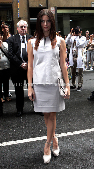 WWW.ACEPIXS.COM . . . . .  ....September 15 2011, New York City....Ashley Greene arriving at the Calvin Klein Collection Spring 2012 fashion show during Mercedes-Benz Fashion Week on September 15, 2011 in New York City.....Please byline: NANCY RIVERA- ACEPIXS.COM.... *** ***..Ace Pictures, Inc:  ..Tel: 646 769 0430..e-mail: info@acepixs.com..web: http://www.acepixs.com