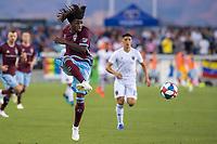 SAN JOSÉ CA - JULY 27: Lalas Abubakar #6 during a Major League Soccer (MLS) match between the San Jose Earthquakes and the Colorado Rapids on July 27, 2019 at Avaya Stadium in San José, California.