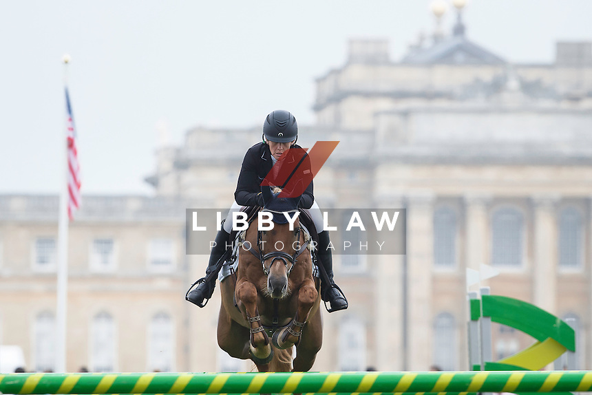 NZL-Caroline Powell (HALLTOWN HARLEY) FINAL-31ST: CCI3* SHOWJUMPING: 2015 GBR-Blenheim Palace International Horse Trial (Sunday 20 September) CREDIT: Libby Law COPYRIGHT: LIBBY LAW PHOTOGRAPHY