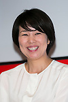 Minako (Kambara) Suematsu, senior managing director of Tsuneishi Holdings Corporation, Chairman of News2u Corporation attends the ''ELLE Women in Society'' event on July 13, 2015, Tokyo, Japan. The event promotes the working women's roll in Japanese society with various seminars where top businesswomen, musicians, writers and other international celebrities speak about the working women's roll in the world. By 2020 Prime Minister Shinzo Abe's administration aims to increase the percentage of women in leadership positions to 30% in Japan. (Photo by Rodrigo Reyes Marin/AFLO)