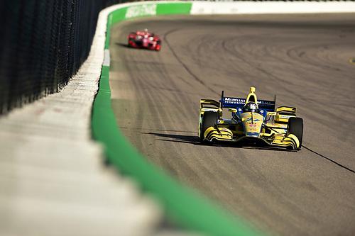 17-18 July, 2015, Newton, Iowa USA<br /> Marco Andretti<br /> ©2015 Scott R LePage <br /> LAT Photo USA