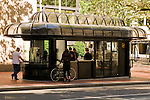 Caffe Viale in an Old Bus Shelter, Portland, Oregon