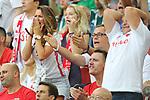 19th June 2018, Spartak Stadium, Moscow, Russia; FIFA World Cup Football, Group H, Poland versus Senegal; Anna Lewandowska