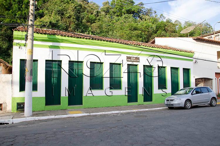 Rua da cidade de Pirapora do Bom Jesus - SP, 04/2014. cidade situada na margem do Rio Tietê poluido - área metropolitana de São Paulo.