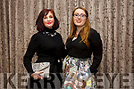 Frances Harty and Rosalynd Hayes at the Shaws Fashion Show in aid of Kerry Hospice at The Rose Hotel on Thursday night