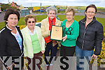 PRIDE: Members of the Portmagee Development Group who have qualified for the national finals of the Pride of Place Awards, l-r: Marian Martin, Mairead Lynch, Anne O'Keeffe, Mary Dennehy, Patricia Kennedy.