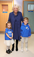 Camilla Duchess of Cornwall Visit to Addenbrookes Hospital