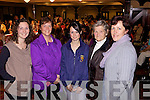 Louise Shanahan(Abbeyfeale),Ann and Lorraine Daly(Abbeyfeale), Mary White(Athea) and Betty Shanahan(Abbeyfeale) pictured at the Gala West Limerick Fashion Show last Thursday in the Devon Inn, Templeglantine in aid of the Invalid Section of Limerick Diocesan Pilgrimage to Lourdes...