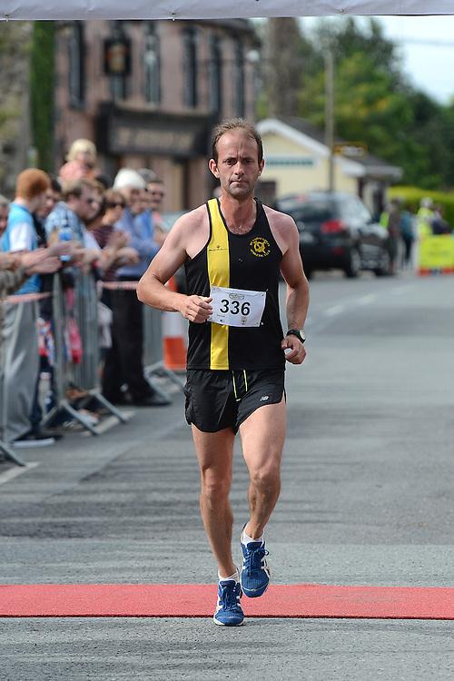 Ciaran O'Dwyer from Dunshaughlin AC was third home in the Duleek 10K run. Photo:Colin Bell/pressphotos.ie