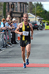 Ciaran O'Dwyer from Dunshaughlin AC was third home in the Duleek 10K run. Photo:Colin Bell/pressphotos.ie