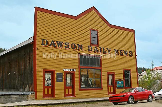 Dawson City 2010,THE YUKON TERRITORY, CANADA,  The Dawson Daily News