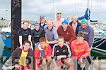 ..SWIMMERS: Swimmers who took part in one of the many events at the RNLI REgatta at Fenit on Sunday. Front l-r: James O'Connell, Colm Horgan, Stephen Concannon and Declan O'Hara. Back l-r: Sinead Moriarty, Michelle Hoare, Bart Kane, Brian Dtynes, Kevin Williams, Martin Grealish, Diarmuid O'Sullivan and Bob Fitzsimons. ....
