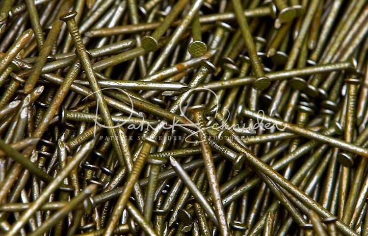 Close up shot of nails