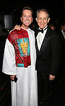 Matt Wall and Jim Walton attend the Actors' Equity Opening Night Gypsy Robe Ceremony for 'Sunset Boulevard'  honoring Matt Wall at the Palace Theatre Theatre on February 9, 2017 in New York City.