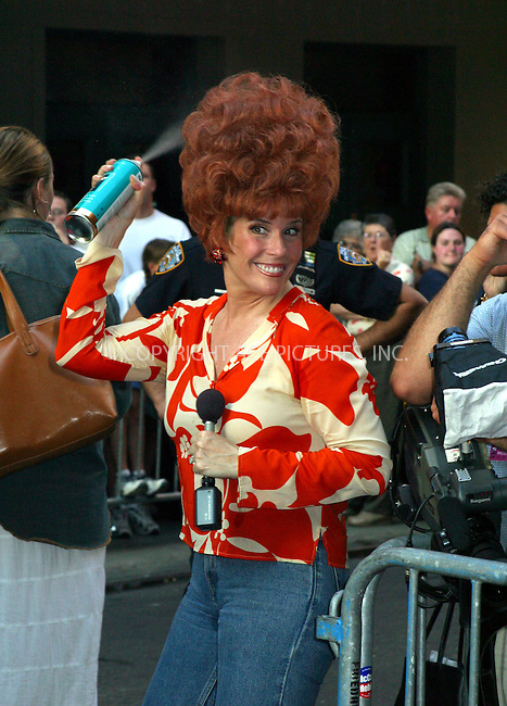 "Opening night for Broadway's newest and hottest show, ""Hairspray"" at Neil Simon Theatre. New York, August 15, 2002. Pictured is Jill Rappaport who is ""Today Show"" correspondent. Please byline: Alecsey Boldeskul/NY Photo Press.   ..*PAY-PER-USE*      ....NY Photo Press:  ..phone (646) 267-6913;   ..e-mail: info@nyphotopress.com"