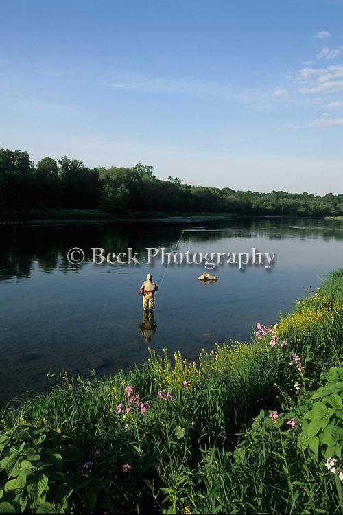 Fly fishing the Upper Delaware River
