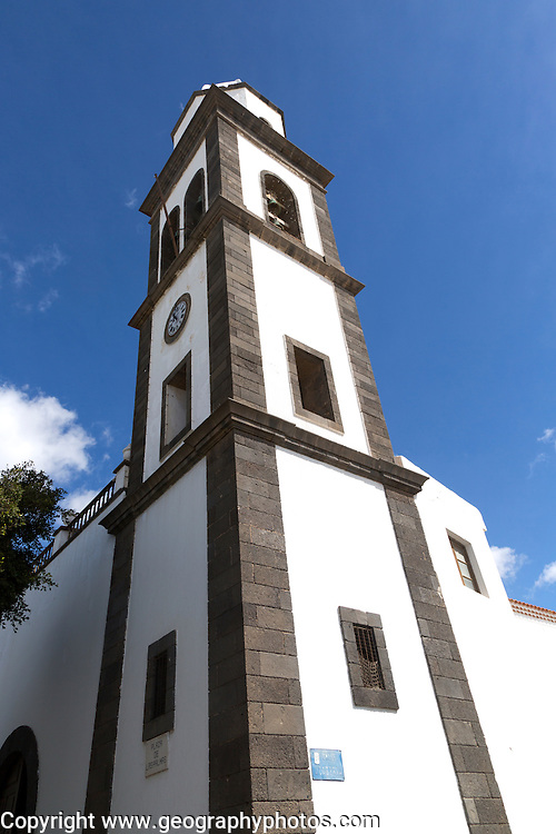 Iglesia de San Ginés, built 1665 historic church, Arrecife, Lanzarote, Canary Islands, Spain