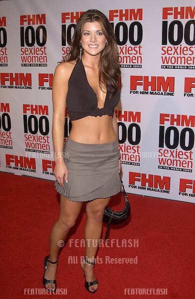 Actress LACEY BEEMAN at party in Hollywood for FHM magazine to celebrate its 8th annual 100 Sexiest Women in the World special issue..June 5, 2003