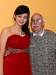 Eimear O'Connor celebrating her 18th birthday in the Thatch with godfather Martin O'Connor. Photo:Colin Bell/pressphotos.ie