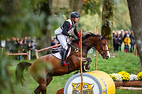 ESP-Alexis Gomez rides Madagascar C during the Cross Country for the CCI3*-L7YO. 2019 FRA-Mondial du Lion - FEI World Breeding Championships. Le Lion d'Angers. France. Saturday 19 October. Copyright Photo: Libby Law Photography