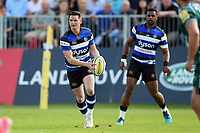 Freddie Burns of Bath Rugby in possession. Aviva Premiership match, between Bath Rugby and London Irish on May 5, 2018 at the Recreation Ground in Bath, England. Photo by: Patrick Khachfe / Onside Images