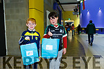 At the IT Tralee Kerry Science Festival on Saturday were Eoghan O'Sullivan and Colby O'Mara