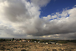 Israel, Southern Hebron Mountain, Har Amasa on Mount Amasa