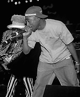 ***FILE PHOTO*** Police Reportedly Close To Arrest In Tupac Murder<br /> Digital Underground (with Tupac Shakur) performing in 1991. <br /> CAP/MPIPJ<br /> &copy;MPIPJ/Capital Pictures