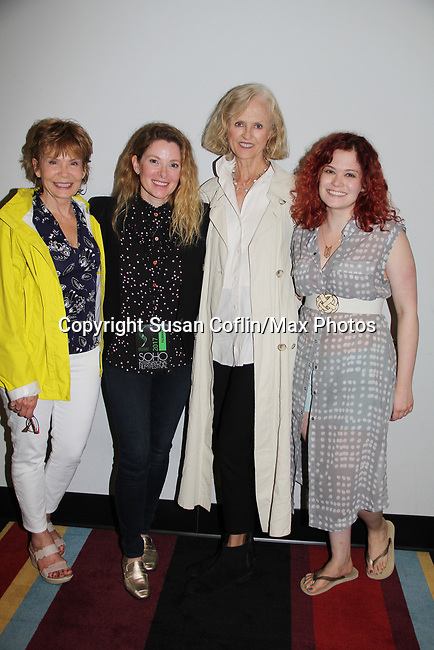 -  Seeing is Believing: Women Direct at its East Coast Premiere at Soho International Film Festival on June 19, 2017 in New York City, New York.(Photos by Sue Coflin/Max Photos) Julia Barr, Cady McClain, Jill Larson, Alison Hirschlag (daughter of Julia) - Julia Barr,Cady McClain, Jill Larson