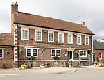The Antelope Inn traditional village pub, Upavon, Wiltshire, England, UK