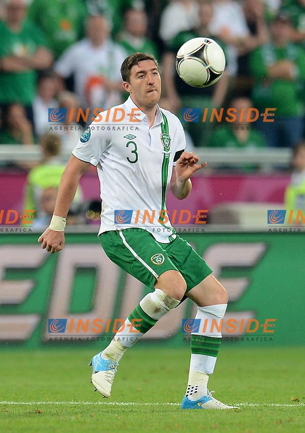 "Stephen WARD (Irlanda).Poznan 18/06/2012  """"Stadion Miejski"".Football calcio Europeo 2012 Italia Vs Irlanda.Football Calcio Euro 2012.Foto Insidefoto Alessandro Sabattini..."