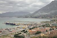 Termini Imerese landscape and harbor<br /> Paesaggio e porto di Termini Imerese.