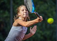 Hilversum, Netherlands, August 7, 2017, National Junior Championships, NJK, Isis van den Broek <br /> Photo: Tennisimages/Henk Koster