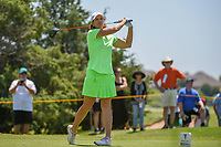 Juli Inkster (USA) watches her tee shot on 3 during round 2 of  the Volunteers of America LPGA Texas Classic, at the Old American Golf Club in The Colony, Texas, USA. 5/6/2018.<br /> Picture: Golffile | Ken Murray<br /> <br /> <br /> All photo usage must carry mandatory copyright credit (&copy; Golffile | Ken Murray)