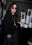 "WEST HOLLYWOOD, CA. - February 02: Ozzy Osbourne signs copies of his book ""I Am Ozzy"" at Book Soup on February 2, 2010 in West Hollywood, California."