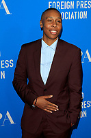 LOS ANGELES - AUG 9:  Lena Waithe at the 2018 HFPA Annual Grants Banquet at the Beverly Hilton Hotel on August 9, 2018 in Beverly Hills, CA