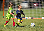 MVLA Coach Ken Soccer Academy 4-5 year old clinic at Hillview field in Los Altos, July 26, 2014