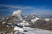 View of the Alps from Klein Matterhorn, near Zermatt, Switzerland
